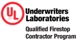 Underwriter's Laboratories UL Certified Firestop