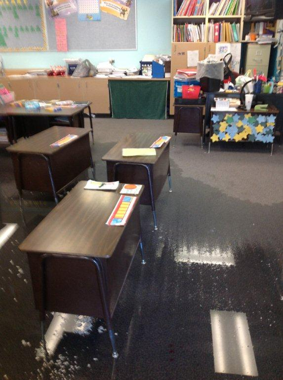 CRS school flood restoration